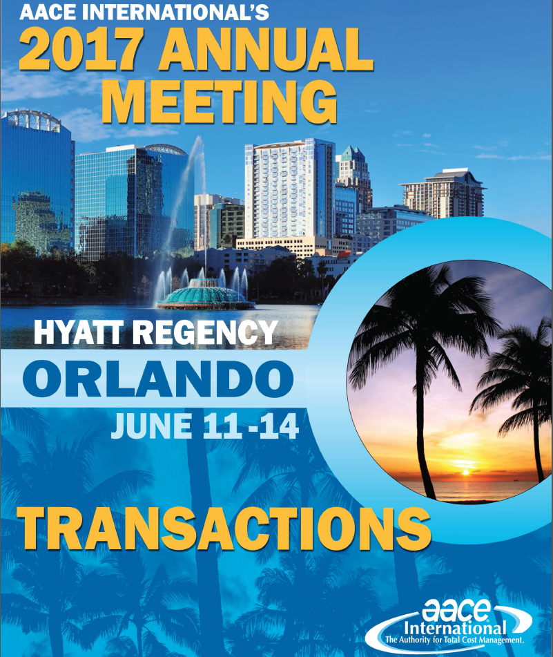 AACE International Annual Meeting 2017